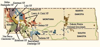 U.S. Forest Service Region 1