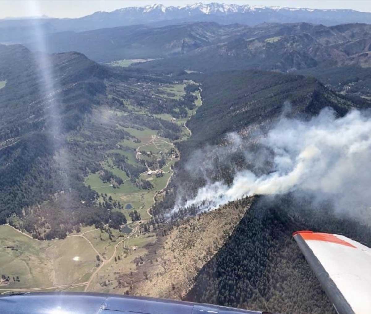 84 Fire San Juan NF