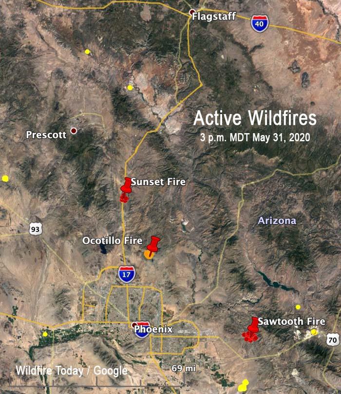 Active Wildfires Arizona