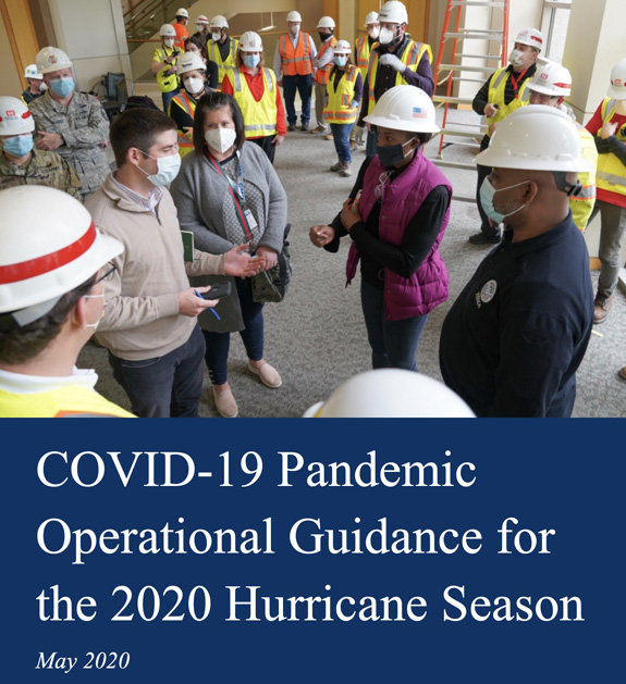 FEMA guidance COVID emergency incidents