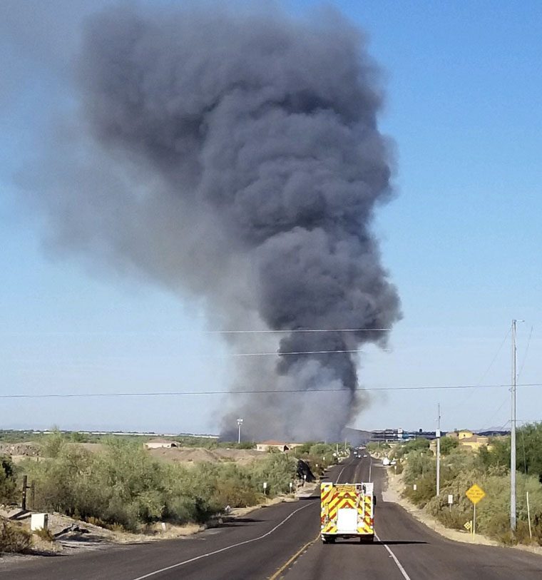Avondale Fire Arizona Phoenix