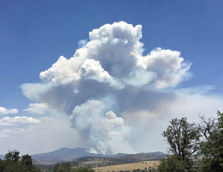 Bringham Fire eastern Arizona