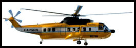 Sikorsky S-61N helicopter