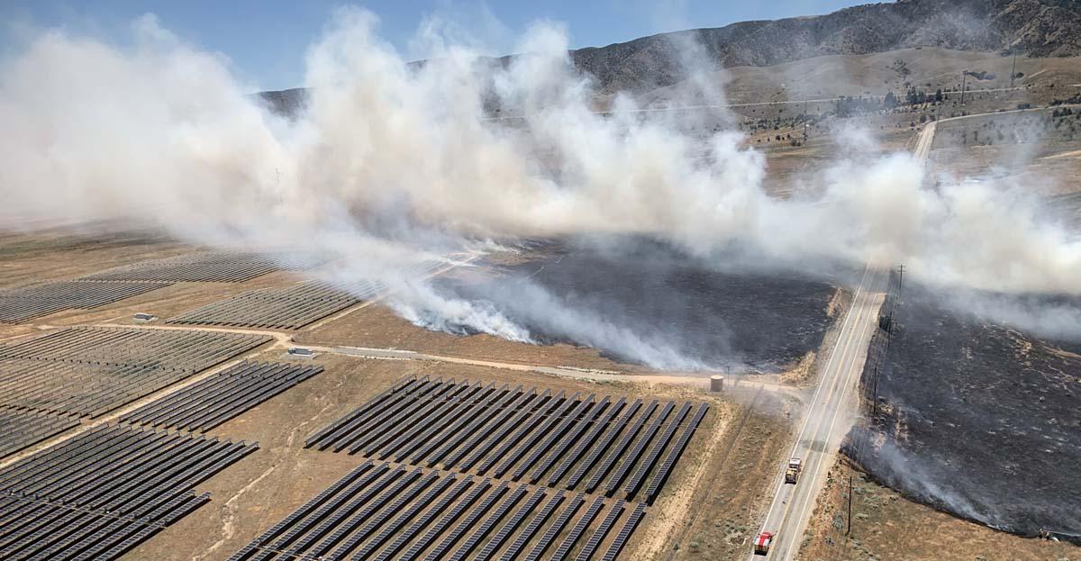 Kilo Fire Lancaster California