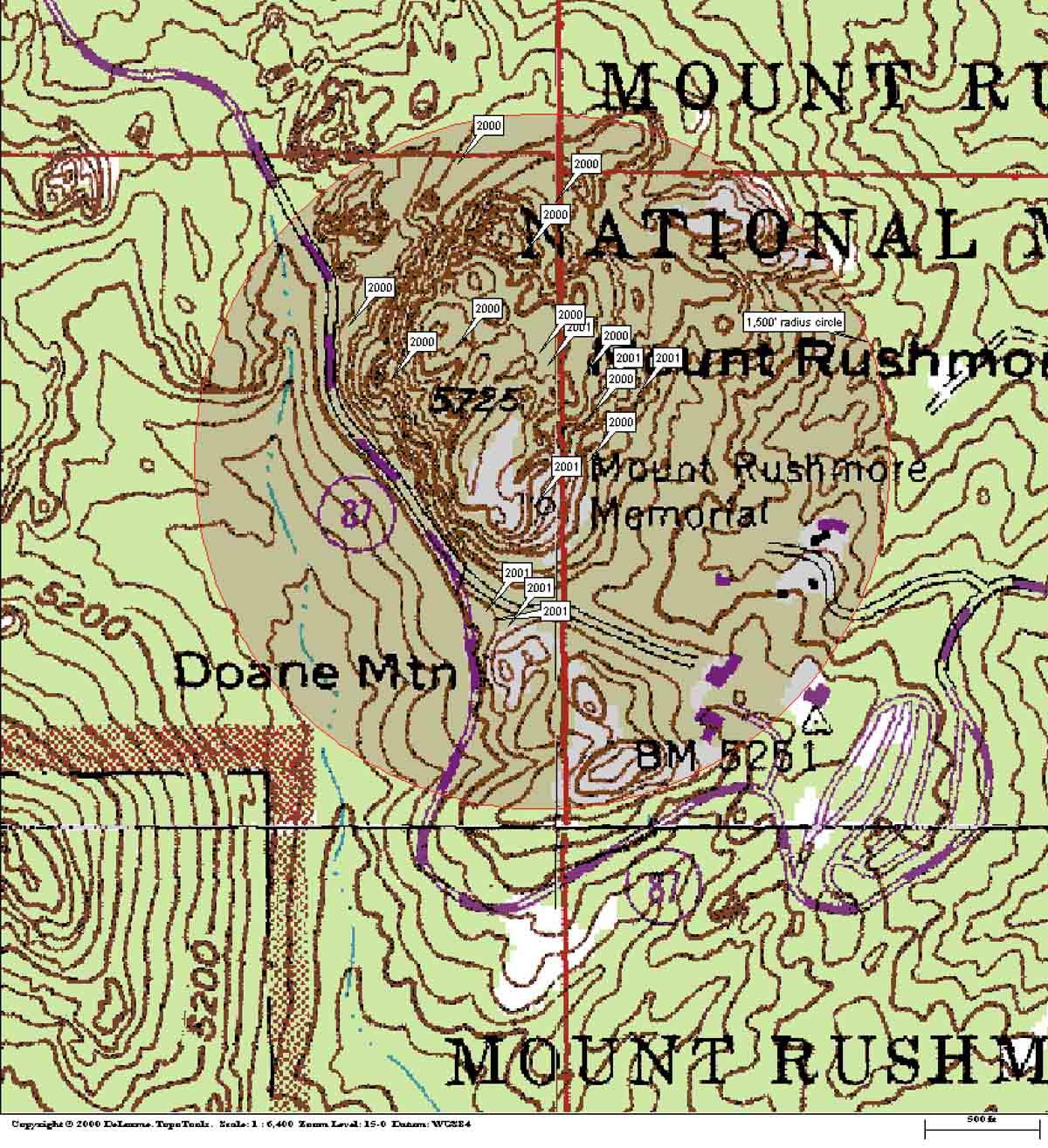 map location fires Mount Rushmore fireworks