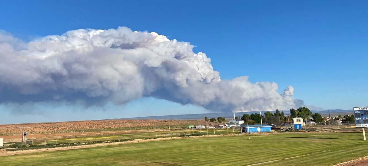 Mangum Fire Arizona