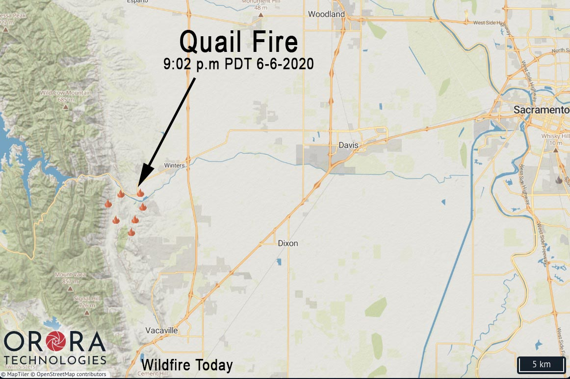 Map Quail Fire