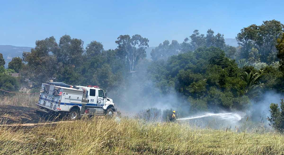 Mockingbird Fire -- Santa Barbara County Fire Department