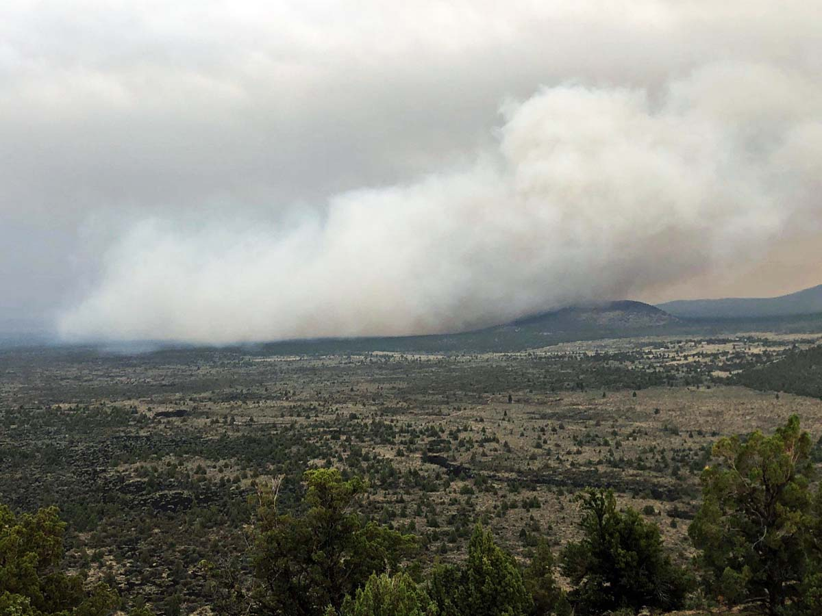 Caldwell Fire Modoc National Forest