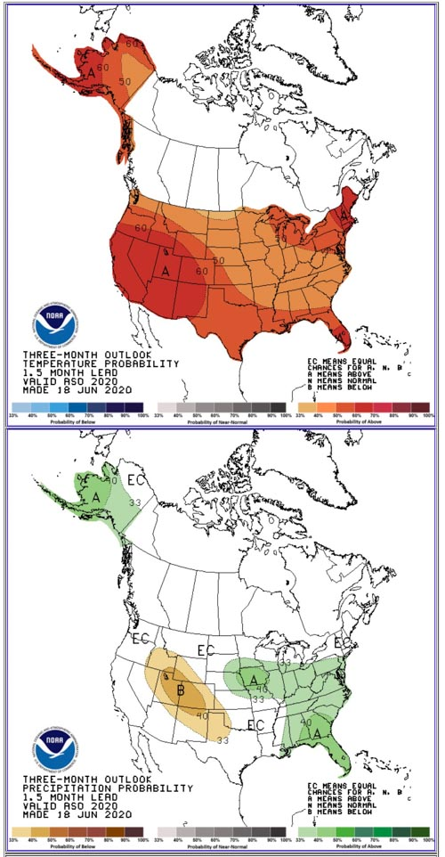 Three Month weather Outlook