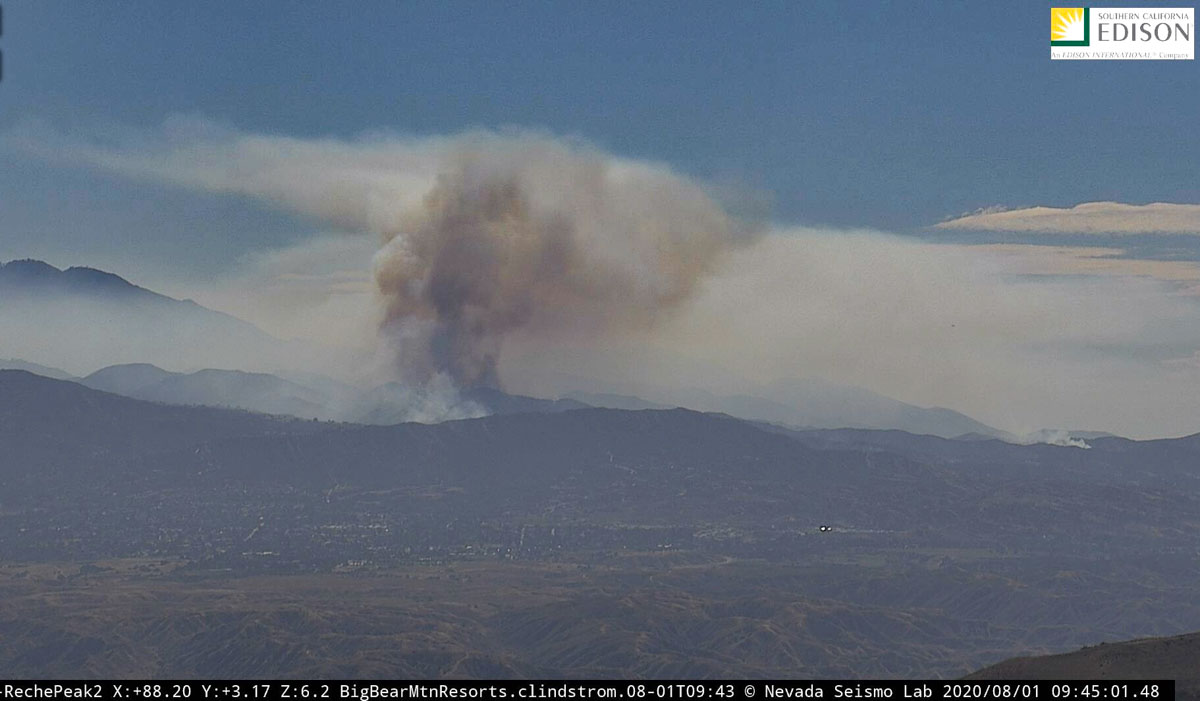 Apple Fire at 9:45 a.m. PDT August 1, 2020