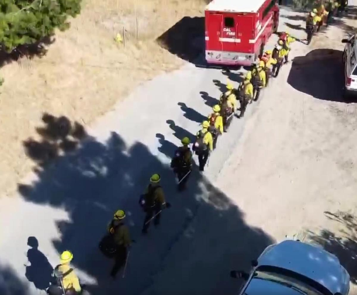 New CAL FIRE Firefighter 1 hand crews