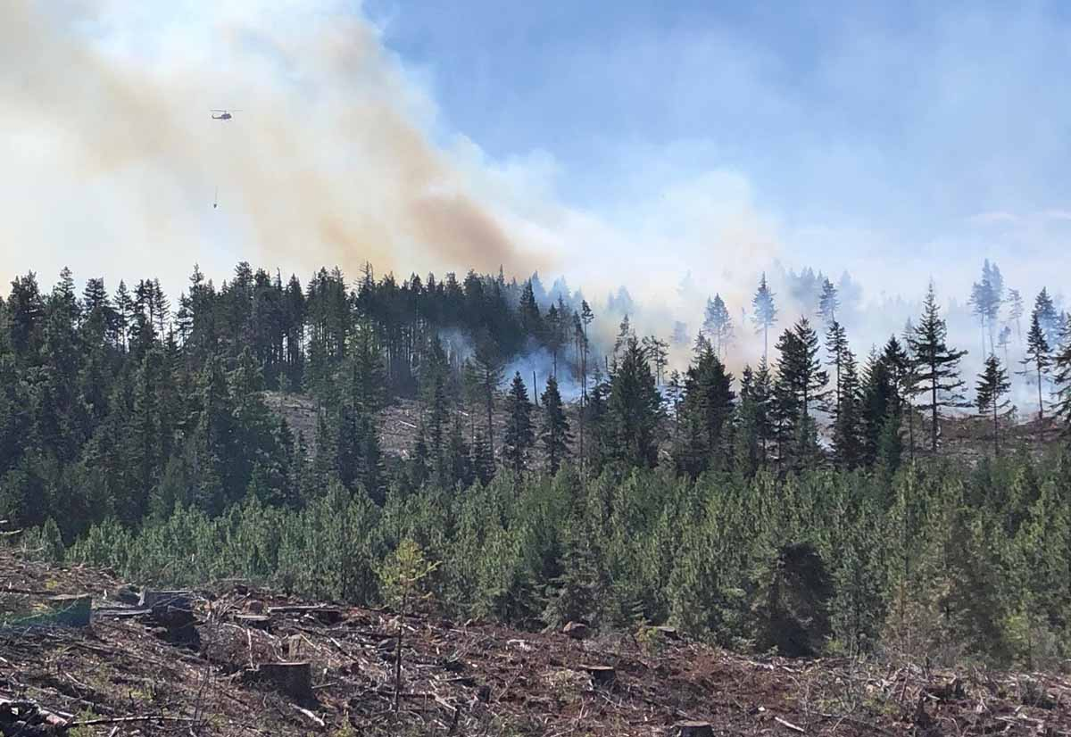Fir Mountain Road Fire