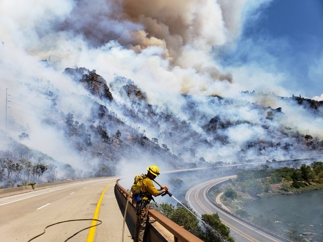 Grizzly Creek Fire Glenwood Springs Colorado