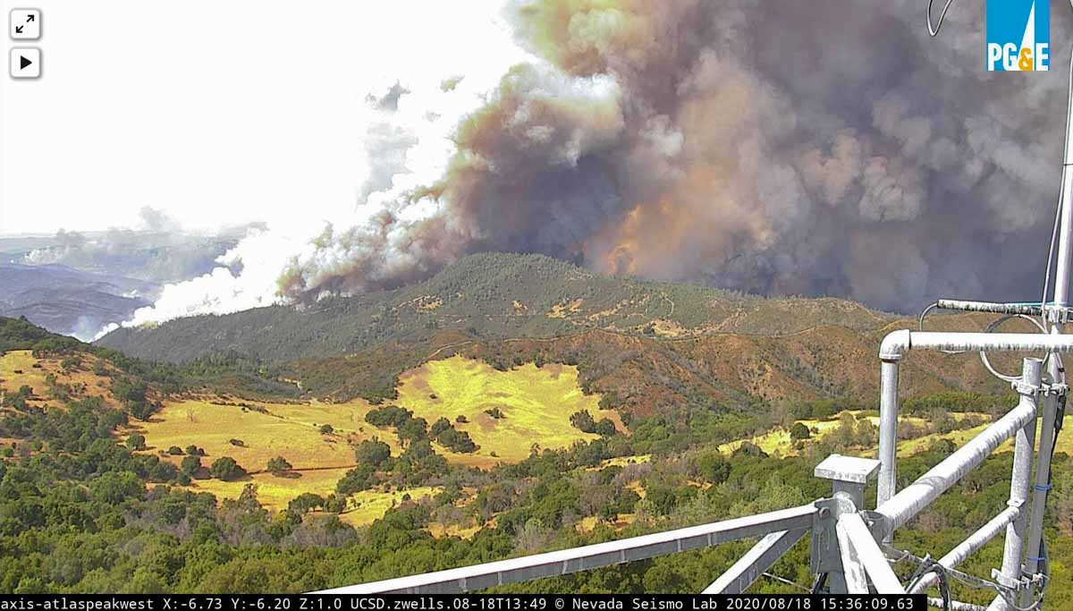 Hennessey Fire August 18, 2020
