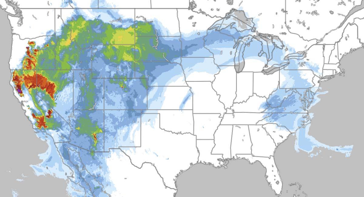 Smoke forecast 5 a.m. MDT Aug 27, 2020