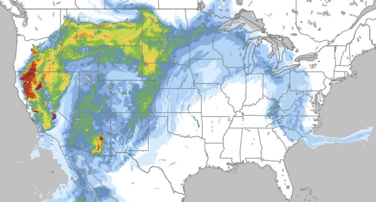 Smoke forecast 6 p.m. MDT Aug 26 2020.
