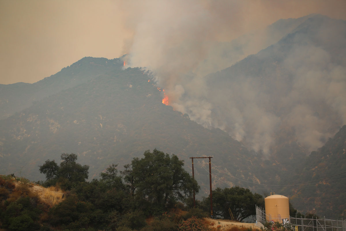 Bobcat Fire, Sept 13, 2020