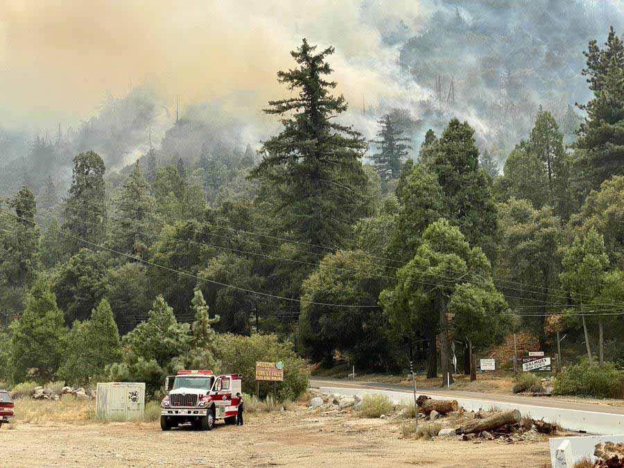 El Dorado Fire, Sept 11, 2020