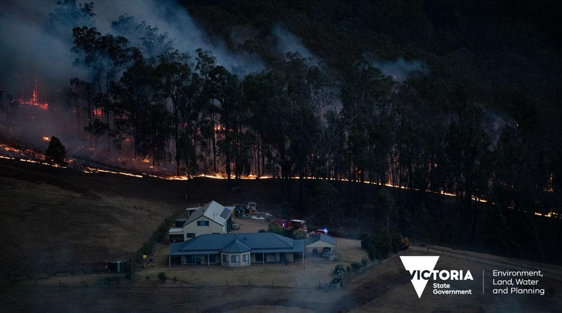 Australia structure bushfire