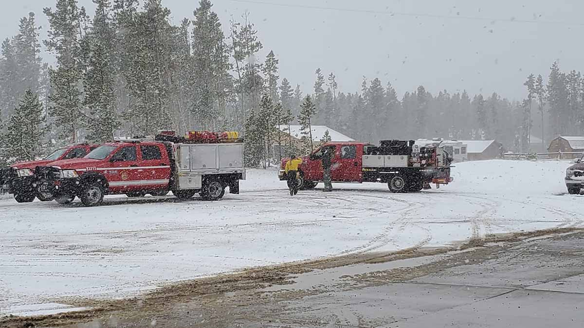 Big Laramie Volunteer Fire Department Station 4