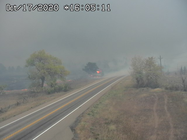 Calwood Fire at Hwy. 36