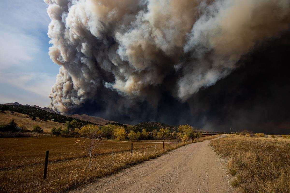 Calwood Fire, Oct. 17, 2020