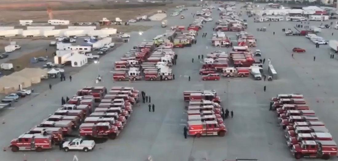 ICP for Silverado & Blue Ridge Fires