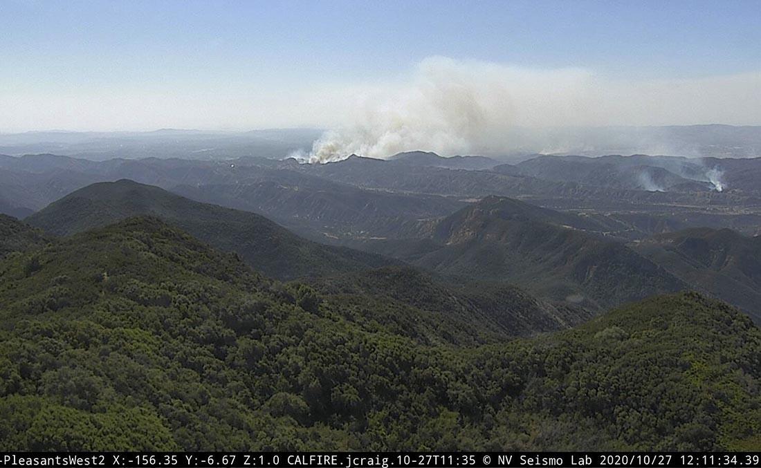 Silverado Fire