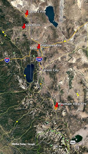 California fires, November 18-19, 2020