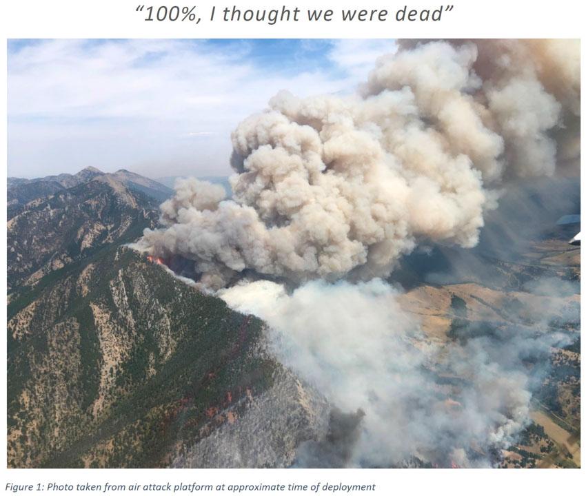 Bridger Foothills Fire entrapment