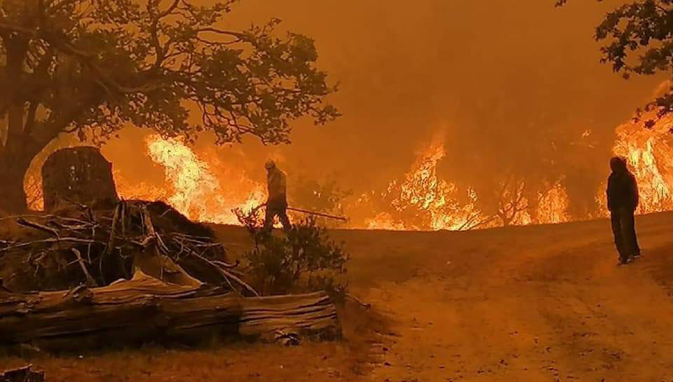 Fire South Africa Jonkershoek Valley Stellenbosch
