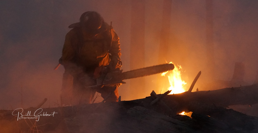 Forestry Technician on the North Pole Fire
