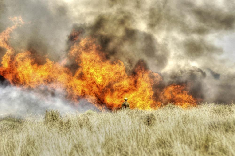 Long Draw Fire