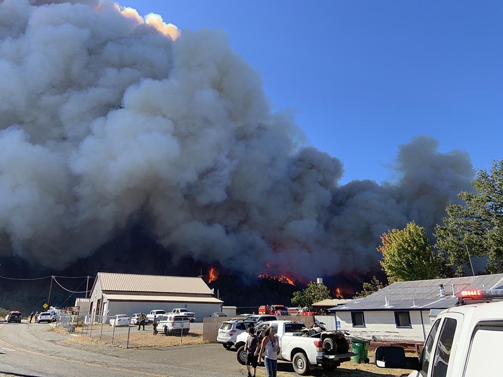 Zogg Fire, Sept. 27, 2020 California