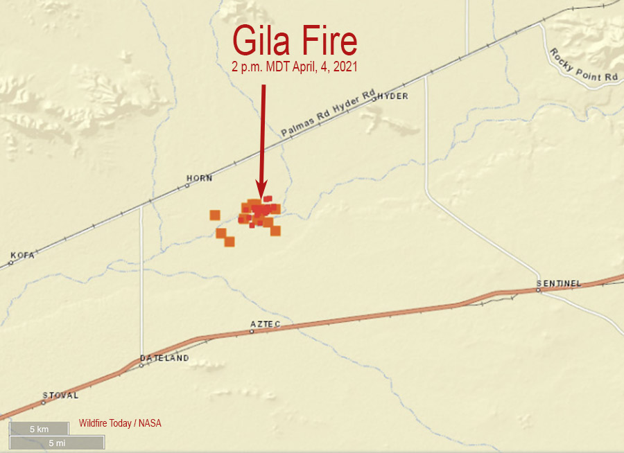 Gila Fire Arizona