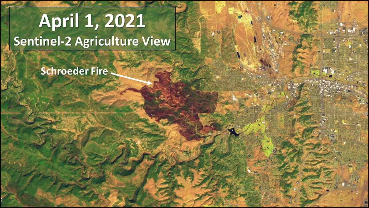 Schroeder Fire April 1, 2021
