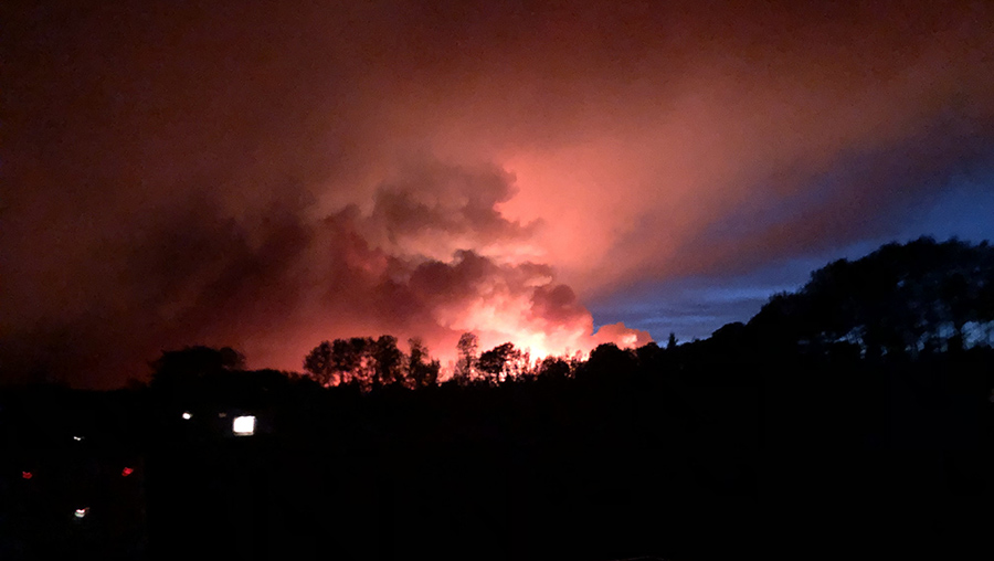 Cloverdale Fire May 17, 2021