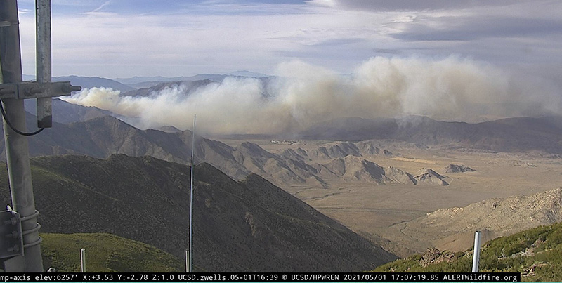 Southern Fire at 5:07 p.m. PDT May 1, 2021